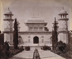 General view of Itimad-ud-Daulah's Tomb, Agra.